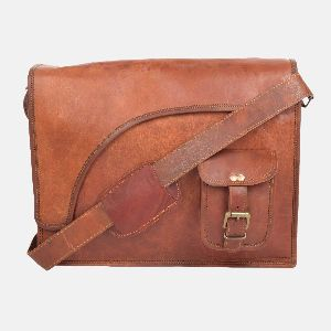 571b343ca1df Leather Messenger Bag in Rajasthan - Manufacturers and Suppliers India