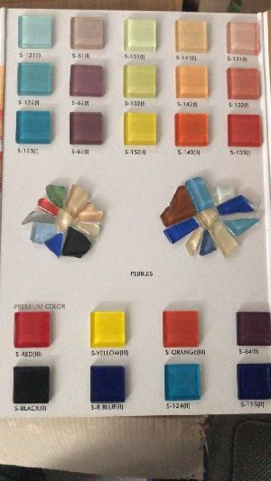 Square Colourful Stones