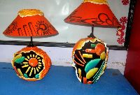 Lampshade In Embosed Work