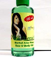 Aloe-sis Hair & Body Herbal Oil