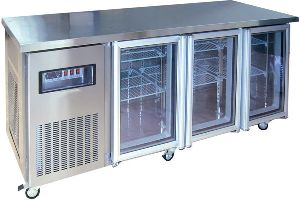 Three Door Undercounter Refrigerator
