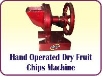 Hand Operated Dry Fruit Chips Machine