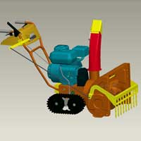 Heavy Duty Snow Thrower