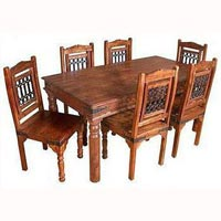 Wonderful Wooden Dining Table Set