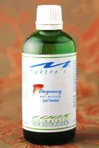 Third Trimester Pregnancy Massage Oil
