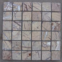 Marble Forest Brown Mosaic