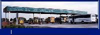 Toll Booth Sign Board