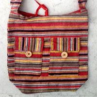 Cotton Canvas College Bag