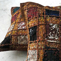 Brown Pillow Cushion Cover