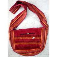 Cotton Canvas Handcrafted Hippie Indian Yoga Sling Cross Body Bag