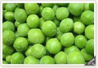 Iqf green peas