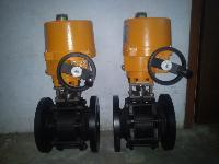 Ball Valve With Electrical actuator