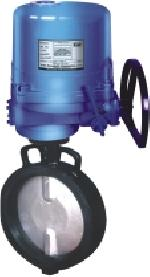 Three Phase Actuator Operated Butterfly Valve