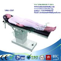 ophthalmic electric operation theater table