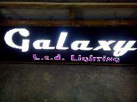 Crystal Letter Sign Board