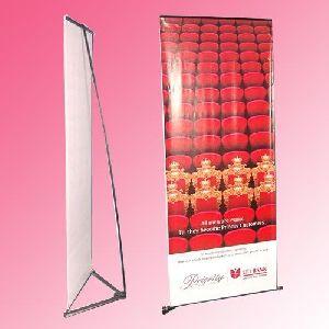 V Banner Stand