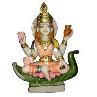 Stone Saraswati Statue