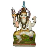 Stone Shiva Statue