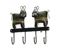 Iron Cow Shaped Wall Hanger