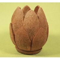 Coconut Shell Lotus Flower