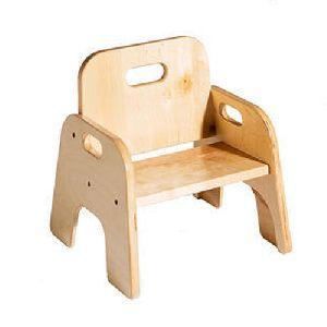 Wooden Play School Chair