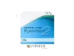 cce9fa1867a Bausch   Lomb Pure Vision 2 Contact Lenses