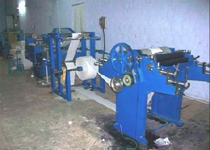 Paper Cover With Double Color Printing Machine