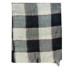 Checkered Viscose Stole