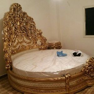 Wooden Carved Bed In Saharanpur Manufacturers And