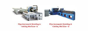 Automatic Cutting Machine, Beveling Machine