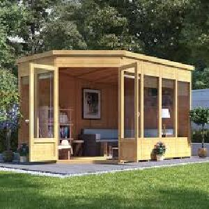 Wooden Portable Site Office