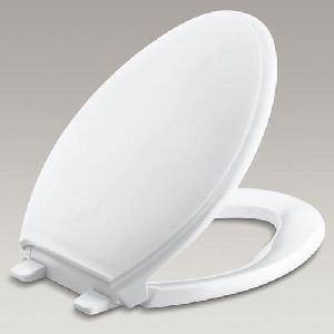 White Toilet Seat Cover