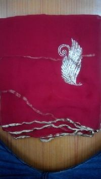 Chiffon Jari Work Sarees