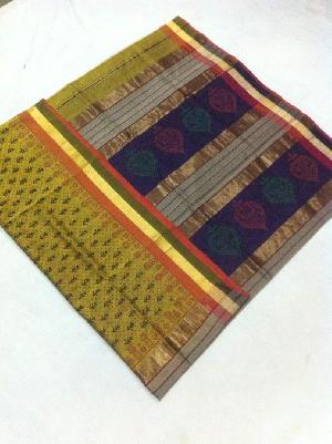 Maheshwari Teen Kila Printed Sarees