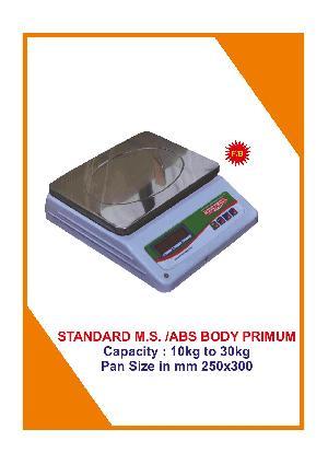 MS Standard  Table Top Weighing Scales