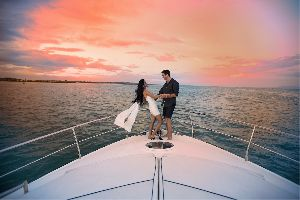 Pre Wedding Photoshoot On Yacht
