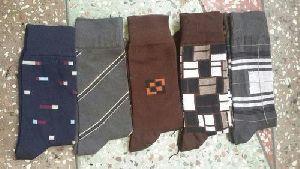 Mens Lycra Cotton Socks