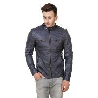Zippers Blue Antic Jacket