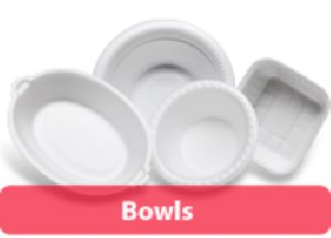 Disposable Thermocol Bowls