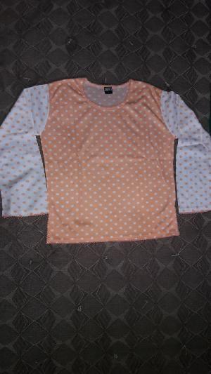 Girls Round Neck T-shirts