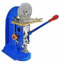 Model 94 Metal Plate Indenting Machine