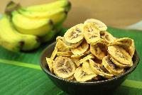 Dehydrated Banana Coins