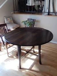 dining table top installation