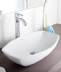 wash basin top installation