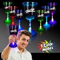 10 Oz. Light Up Multicolor Glow Led Wine Glass