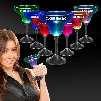 10 oz. Lighted LED Margarita Glass