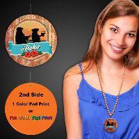 Aloha Plastic Medallions - 2 1/2