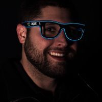 Blue LED EL Sunglasses