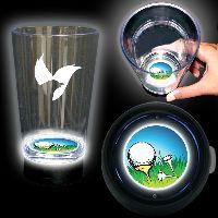 Golf Bottom Lit Light Up Cup
