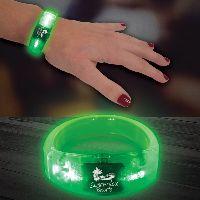 "Green 8"" Light Up Led Glow Bangle Bracelet"